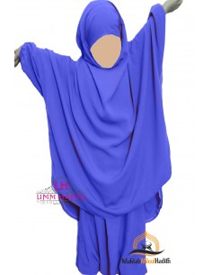 "Jilbab enfant ""Sarouel"" Umm Hafsa - Blue electric"