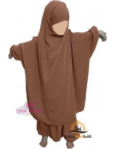 jilbab Kinderhose Umm Hafsa - Cinnamon