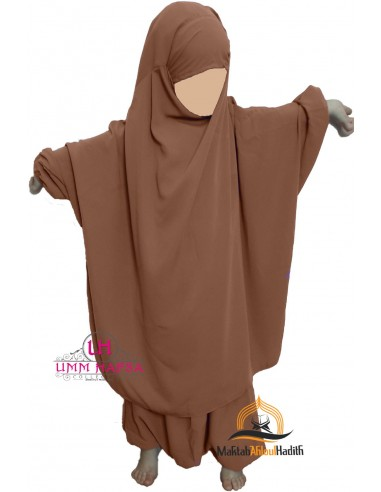 jilbab child pants Umm Hafsa - Cinnamon