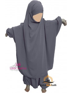 "jilbab child ""pants"" Umm Hafsa - Grey"