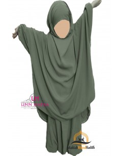 "jilbab child ""pants"" Umm Hafsa - Green"