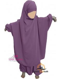 jilbab Kinderhose Umm Hafsa - Pflaume