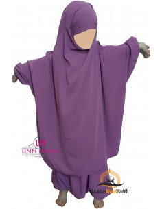 jilbab child pants Umm Hafsa - Rose balai