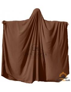 Big jilbab Saudi Umm Hafsa - Cinnamon