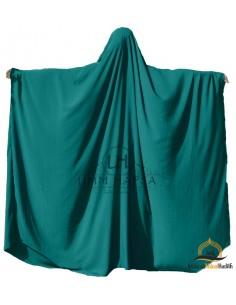 Big jilbab Saoudien Umm Hafsa - Vert Canard