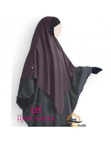 Hijab / Khimar Lycra Umm Hafsa - Taupe