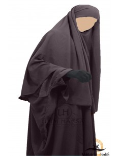 Hijab Cape Umm Hafsa - Taupe