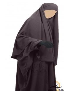 Hijab / Khimar Cape Umm Hafsa - Taupe