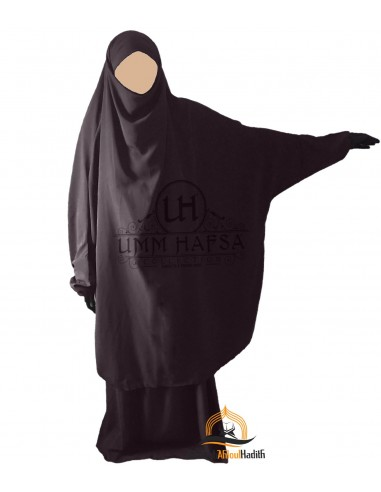 "Jilbab 2 pieces Classique ""jupe"" Umm Hafsa - Taupe"