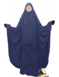 "Big jilbab two piece ""SKIRT"" umm hafsa – Blue"