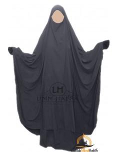 """Big jilbab deux pièces """"JUPE"""" umm hafsa – Gris"""