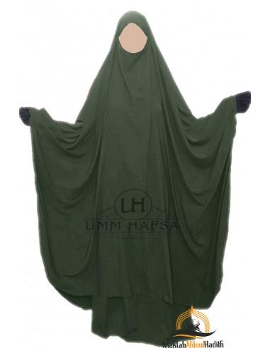 "Big jilbab zwei Stück ""ROCK"" umm hafsa – Khaki"
