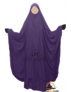 "Big jilbab two piece ""SKIRT"" umm hafsa – Eggplant"
