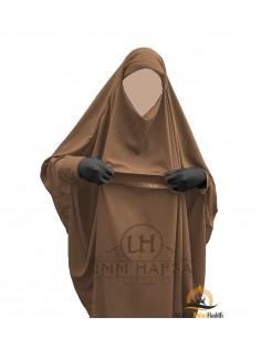 """Maternity Jilbab """"Sirwel"""" Umm Hafsa – Cinnamon"""