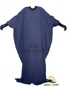"Abaya Lycra Umm Hafsa ""Luxux Caviary"" – blau"