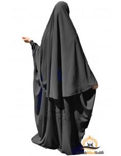Abaya/Hijab Maryam Umm Hafsa - Schwarz