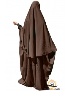 Abaya/Hijab Maryam Umm Hafsa – Braun