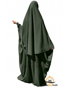 Abaya/Hijab Maryam Umm Hafsa – Green