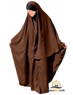 Abaya/Hijab Maryam Umm Hafsa – Zimtfarbe