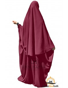 Ensemble Abaya/hijab Maryam Umm Hafsa – Bordeaux