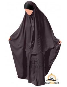 Ensemble Abaya/hijab Maryam Umm Hafsa – Taupe