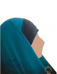 Hijab / Khimar Maryam Umm Hafsa - Vert canard