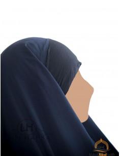 Hijab / Khimar Maryam Umm Hafsa - Bleu