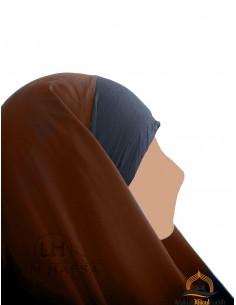 Hijab / Khimar Maryam Umm Hafsa - Zimtfarbe