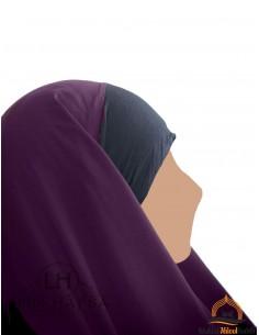 Hijab / Khimar Maryam Umm Hafsa – Pflaume