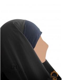 Hijab / Khimar Maryam Umm Hafsa - Schwarz