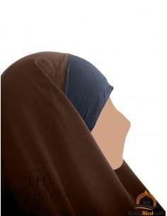Hijab / Khimar Maryam Umm Hafsa - Braun