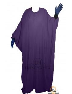 Abaya Maryam Umm Hafsa - Aubergine farbe