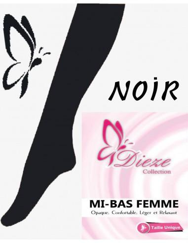 MI-BAS DiezeOpaque - Noir