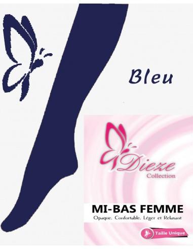 MI-BAS Dieze Opaque - Bleu