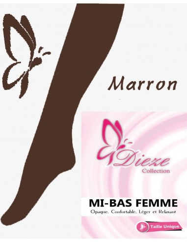 MI-BAS Dieze Opaque - Marron