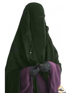 Niqab/Sitar Casquette à clips Umm Hafsa 1m60 - Kaki