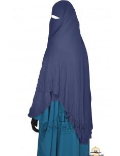 Niqab- Cape von Umm Hafsa 1m50 - blau