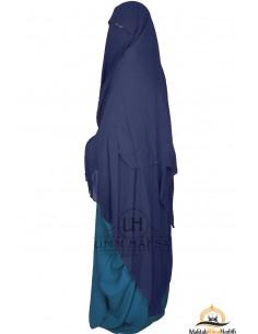 Niqab/Sitar Casquette umm hafsa 1m60- Bleu
