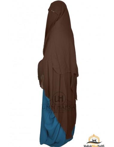Niqab/Sitar Casquette 1m60- Marron