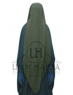 Niqab/Sitar Casquette umm hafsa 95cm - Kaki