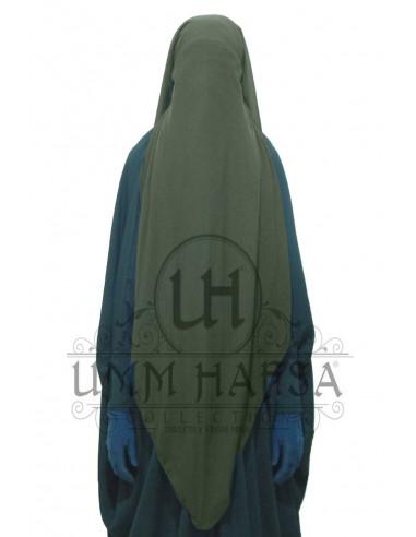 Niqab cap 95cm - Khaki