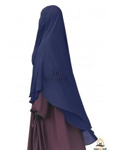 Niqab hafsa 1m70 - Bleu