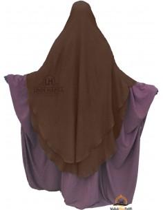 Niqab hafsa 1m70 - Marron
