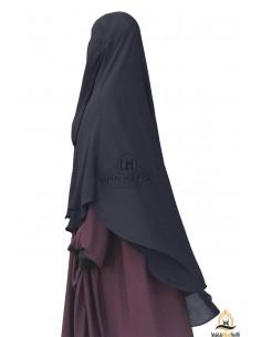 Niqab hafsa 1m70 - Gris