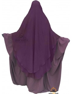 Niqab hafsa 1m70 - Prune