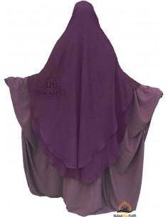 Niqab hafsa 1m70 Umm Hafsa - Prune