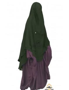 Niqab hafsa 1m70 Umm Hafsa - Green