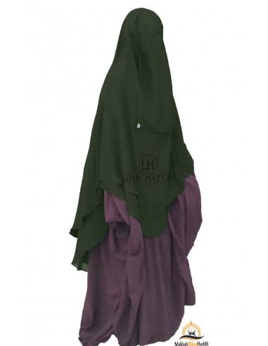 Niqab hafsa 1m70 - Green