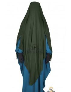 Niqab/Sitar 3 voiles 1m60 - Kaki