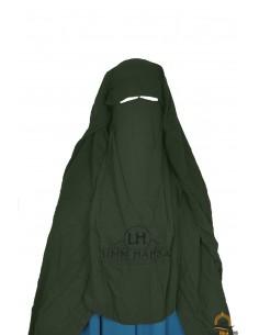 Niqab/Sitar Casquette umm hafsa 1m25 - Kaki